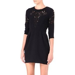 The Kooples laser cut dress szL